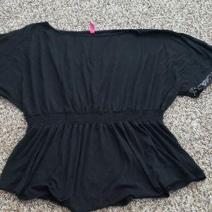 Black dressy blouse size 2x